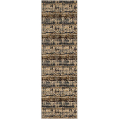 Expressions by Scott Living Kaleidoscopic 91675 50128 Serge Denim Rug - Karastan