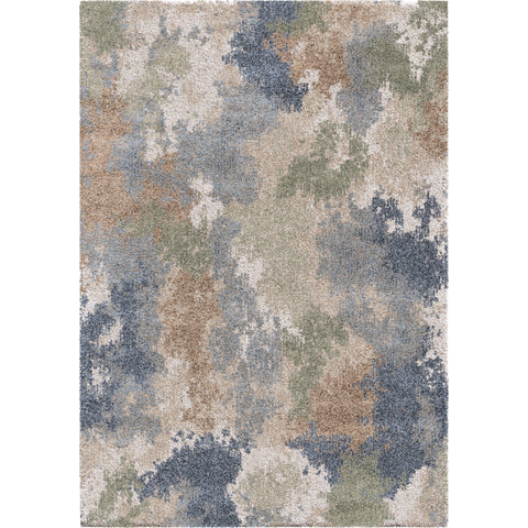 Mystical 7014 Muted Blue Rug - Orian