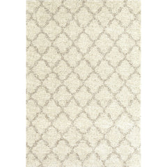 Prima Shag Temara Lattice Brown Rug - Karastan