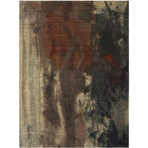 Decollage Abstract Rug - Karastan