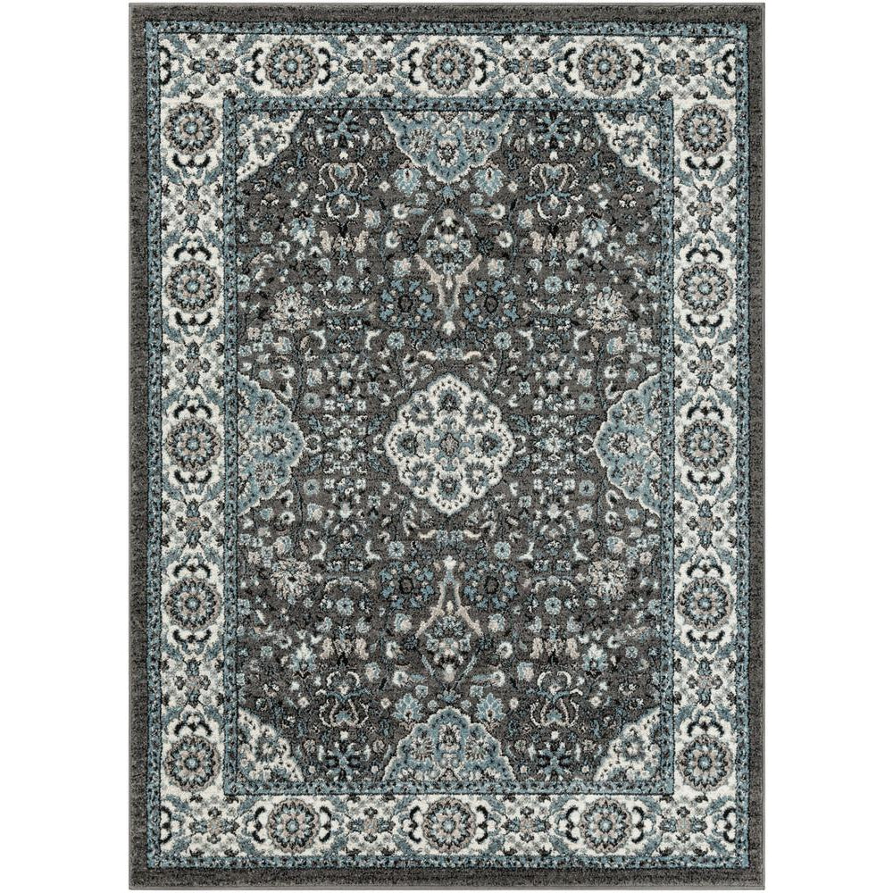 Agra Denim, Charcoal Rug - Surya (AGR-2307)
