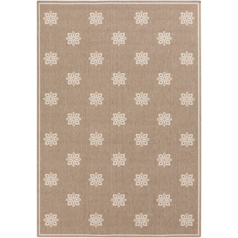 Alfresco Camel, Cream Rug - Surya (ALF-9607)