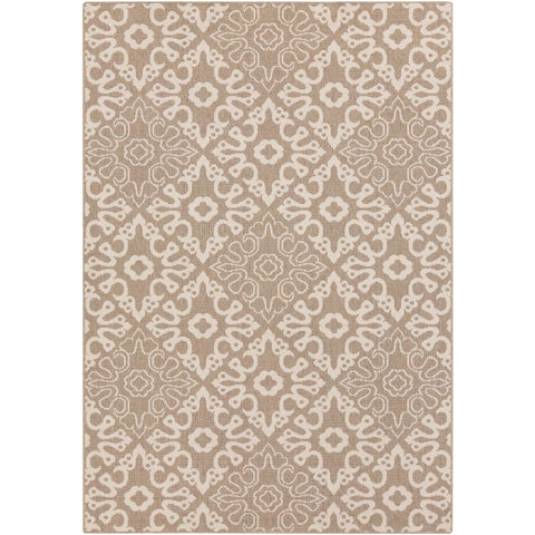 Alfresco Camel, Cream Rug - Surya (ALF-9635)