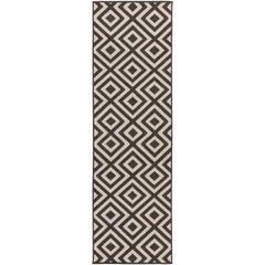 Alfresco Black, Cream Rug - Surya (ALF-9639)
