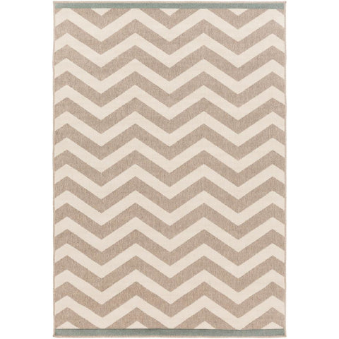 Alfresco Camel, Cream Rug - Surya (ALF-9645)