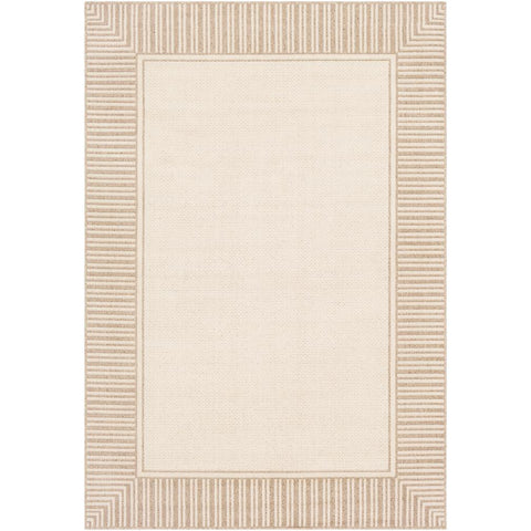 Alfresco Camel, Cream Rug - Surya (ALF-9685)