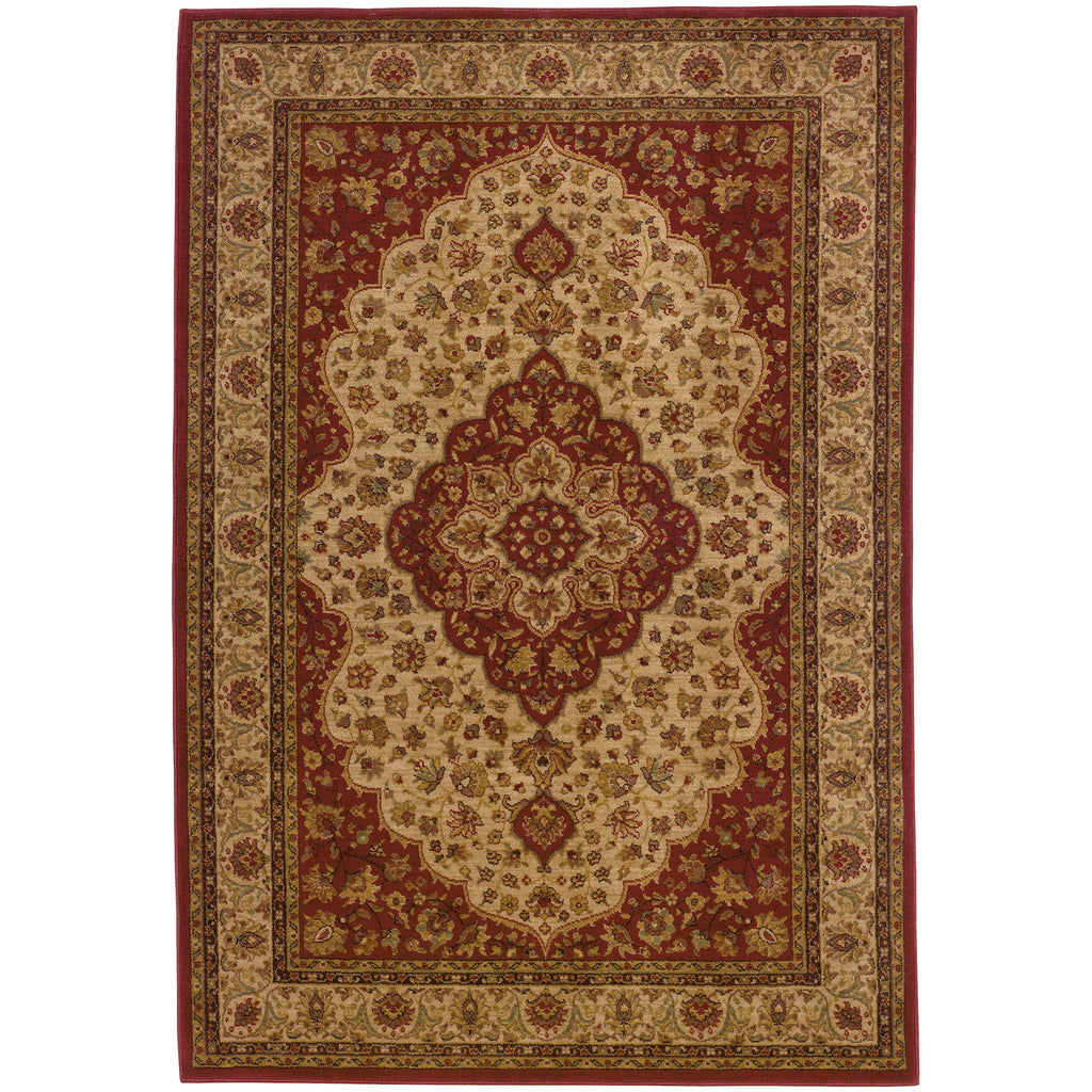 ALLURE 011D1 Red, Gold Rug - Oriental Weavers