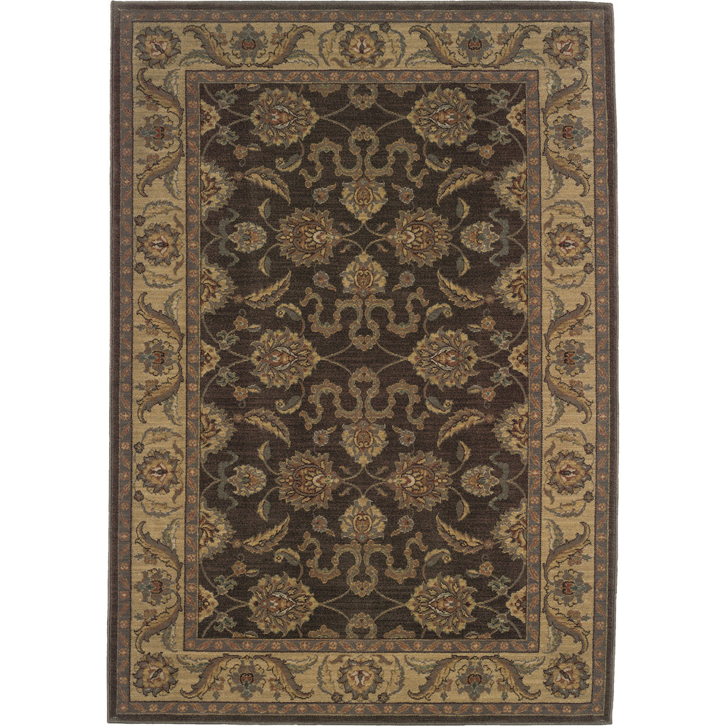 ALLURE 012B1 Brown, Beige Rug - Oriental Weavers