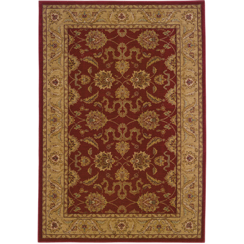 ALLURE 012D1 Red, Beige Rug - Oriental Weavers