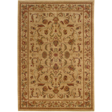 ALLURE 002A1 Beige, Red Rug - Oriental Weavers