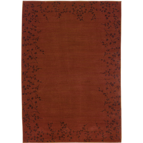 ALLURE 004C1 Red, Brown Rug - Oriental Weavers