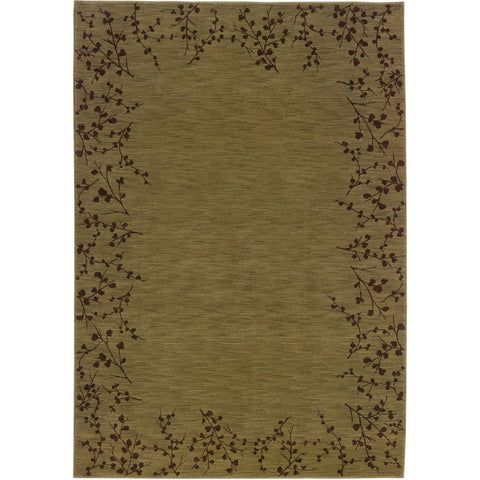 ALLURE 004E1 Green, Brown Rug - Oriental Weavers