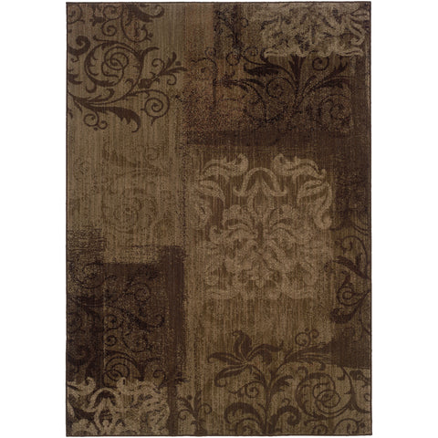 ALLURE 060B1 Brown, Beige Rug - Oriental Weavers