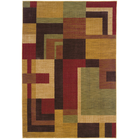 ALLURE 009A1 Red, Gold Rug - Oriental Weavers