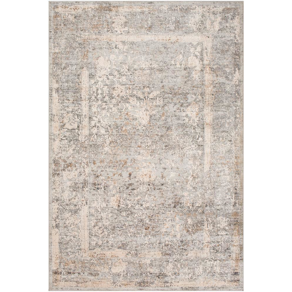 Alpine Light Gray, Ivory Rug - Surya (ALP-2307)