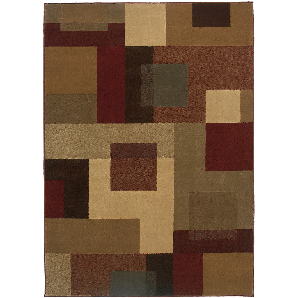 AMELIA 2261Y Red, Tan Rug - Oriental Weavers