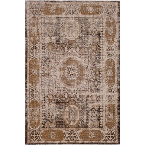 Amsterdam Medium Gray, Dark Purple Rug - Surya (AMS-1010)