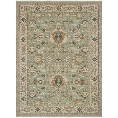 ANATOLIA 1331A Blue, Brown Rug - Oriental Weavers