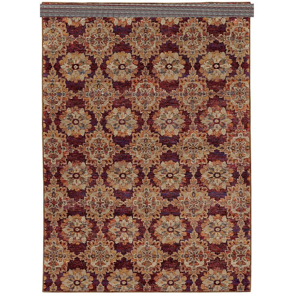 ANDORRA 6883a Red Rug - Oriental weavers