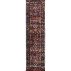ANDORRA 7153A Red, Purple Rug - Oriental Weavers