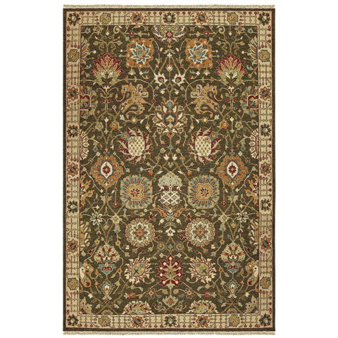 ANGORA 12304 Brown Rug - Oriental weavers