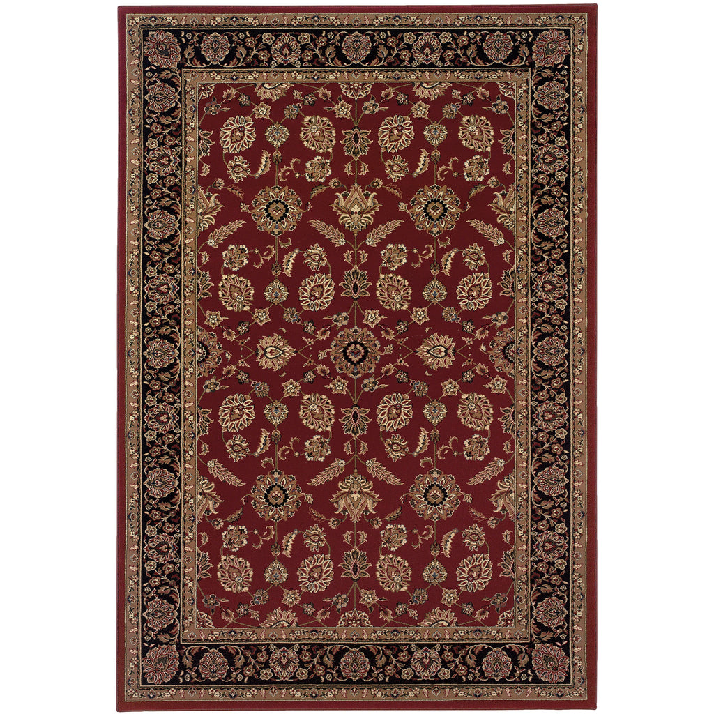 ARIANA 271C3 Red, Black Rug - Oriental Weavers