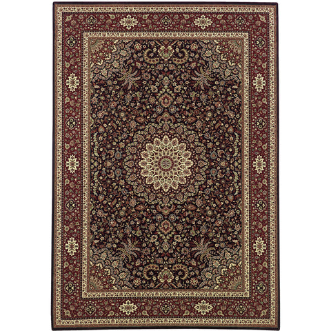 ARIANA 095N2 Brown, Red Rug - Oriental Weavers
