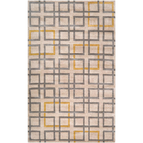 Artist Studio Mustard, Medium Gray Rug - Surya (ART-231)