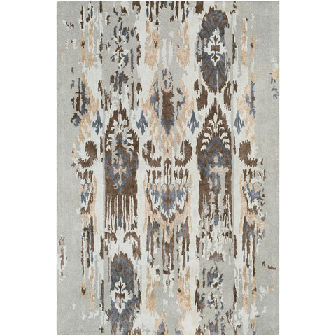 Artist Studio Light Gray, Navy Rug - Surya (ART-241)