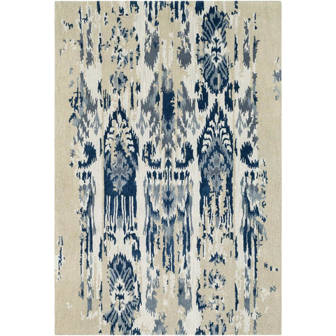Artist Studio Medium Gray, Navy Rug - Surya (ART-242)