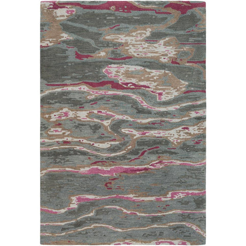 Artist Studio Dark Brown, Medium Gray Rug - Surya (ART-244)