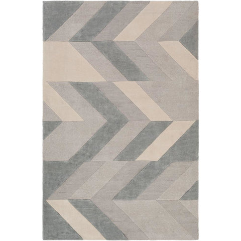 Artist Studio Light Gray, Sea Foam Rug - Surya (ART-251)