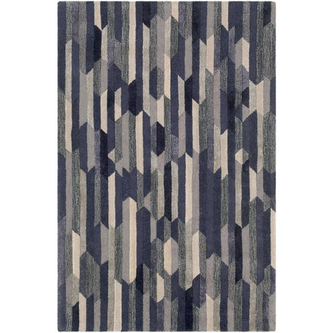 Artist Studio Navy, Tan Rug - Surya (ART-255)