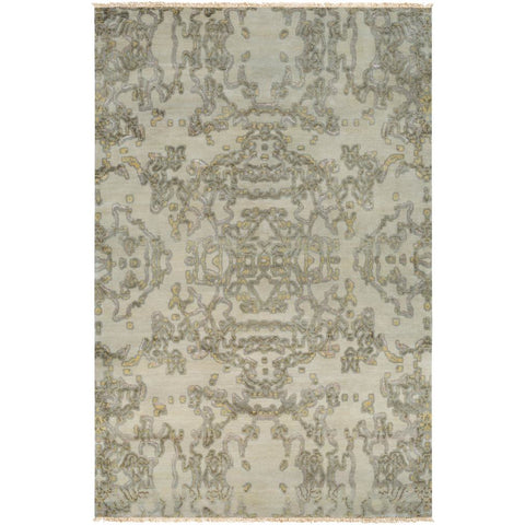 Atmospheric Khaki, Dark Green Rug - Surya (ASC-1002)
