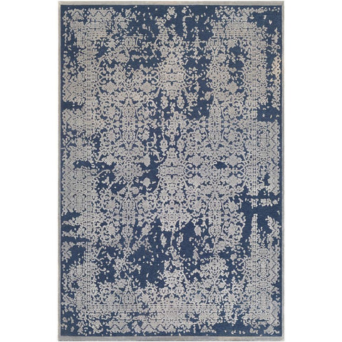 Aesop Dark Blue, Medium Gray Rug - Surya (ASP-2306)