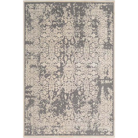 Aesop Medium Gray, Beige Rug - Surya (ASP-2309)