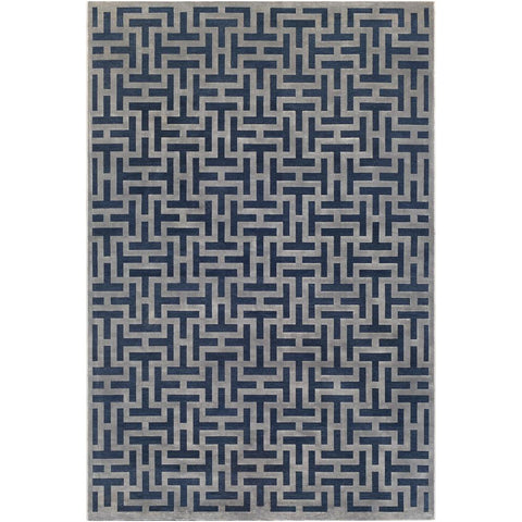 Aesop Dark Blue, Medium Gray Rug - Surya (ASP-2312)