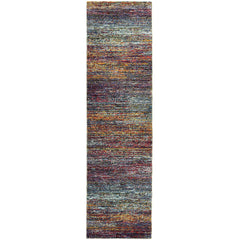 ATLAS 8037B Grey, Blue Rug - Oriental Weavers