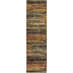 ATLAS 8037C Gold, Charcoal Rug - Oriental Weavers