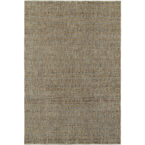 ATLAS 8048B Blue, Gold Rug - Oriental Weavers