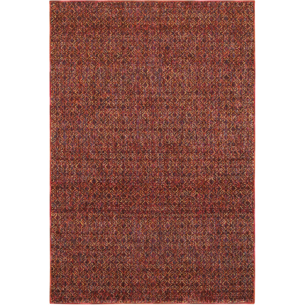 ATLAS 8048K Red, Rust Rug - Oriental Weavers