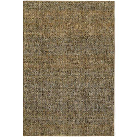 ATLAS 8048P Green, Gold Rug - Oriental Weavers