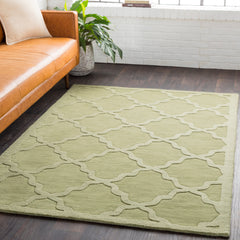 Central Park Grass Green Rug - Surya (AWHP-4016)