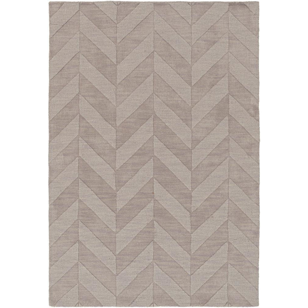 Central Park Taupe, Lavender Rug - Surya (AWHP-4025)