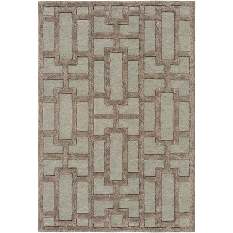 Arise Medium Gray, Charcoal Rug - Surya (AWRS-2137)