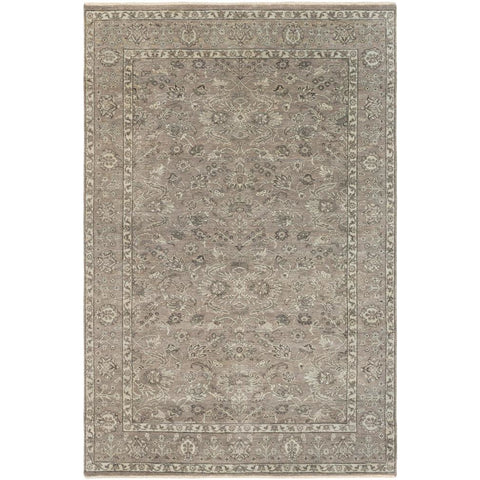 Bala Light Gray, Taupe Rug - Surya (BAA-5004)