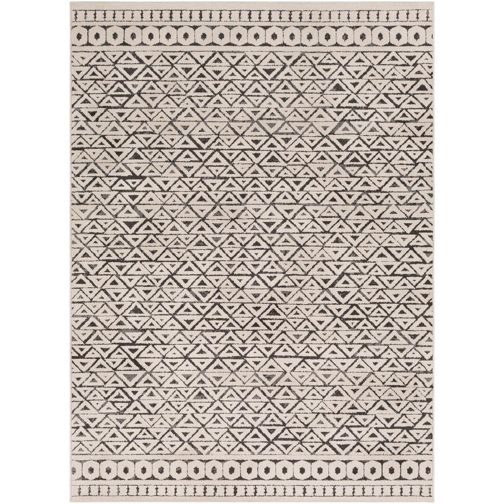Bahar Medium Gray, Charcoal Rug - Surya (BHR-2315)