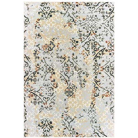 BOWEN 108W2 Grey, Gold Rug - Oriental Weavers