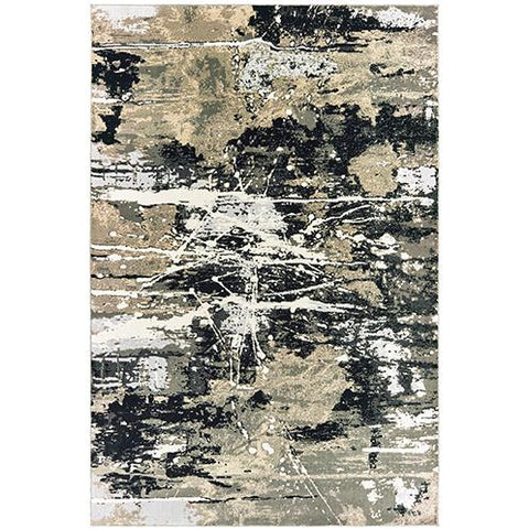 BOWEN 109E2 Black, Gold Rug - Oriental Weavers