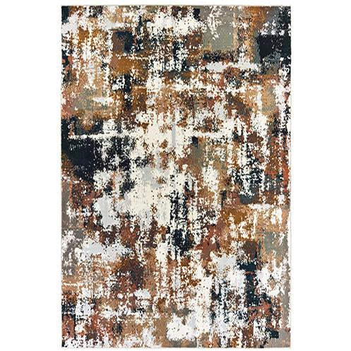 BOWEN 4928X Grey, Gold Rug - Oriental Weavers